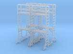 Scaffold 02. HO Scale (1:87)