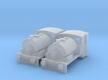 N gauge Bagnall 0-4-0ST Pack x2