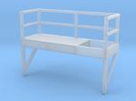 'N Scale' - 10' Ladder Platform - Left Side Openin