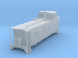 HO scale DRGW 01400 series caboose