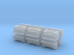 "1/87th kenworth 36"" toolbox builders pack of 12"