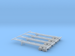 N 40' Container Chassis 4.Pack