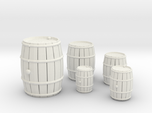 Wooden Barrels Kit