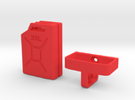 1/10 Scale 20 litre Jerry Can + mount