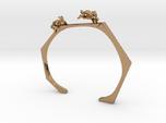 Chasing Rabbits Cuff Bracelet