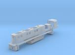 NRE 3GS21B Genset: Angled Fuel Tank (N - 1:160)