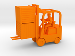Forklift With Driver & Load - HO 87:1 Scale