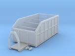 H0 1:87 Abrollcontainer mit Kranplattform