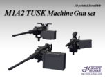 1/18 M1A2 Tusk Machine Gun set