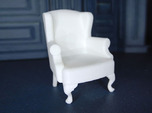 1:24 Queen Anne Wingback Chair