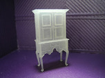 1:48 Queen Anne Highboy Cabinet