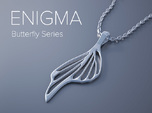 Enigma Butterfly Series Pendant