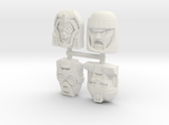 Gobots Renegade Faces Four Pack