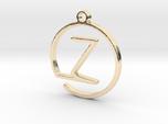 Z Monogram Pendant