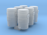 Igloo Style 1-87 HO Scale Cooler (6Pack)