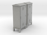 Electrical Cabinet With Legs 1-87 HO Scale