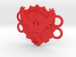 Pokemon Go Team Valor Bracelet Medallion