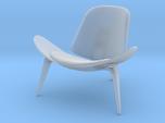 Miniature CH07 Shell Chair - Hans. J. Wegner