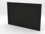 Television or Computer Monitor Screen 1/35th scale
