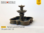 Barbed quatrefoil fountain (TT 1:120)