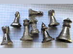 Chess shaped Dice (hollow)
