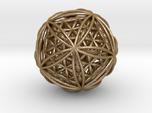 Icosasphere w/ Nested Flower of Life Icosahedron