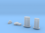 1/700 Invincible G3 Funnels And Parts