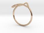 Infinity Heart Ring -Multiple Sizes