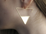FLAT Nº 2 EARRINGS