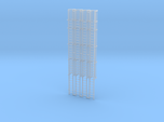 'N Scale' - (4)-30' Caged Ladder - Caged to Top