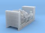 1/64th Diesel Engine Generator w cabinet