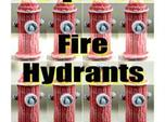 HO Fire Hydrants x15 Pack