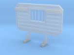 1/87 HO headache rack window chain hangers
