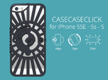 for iPhone 5SE - 5s - 5 : redial : CASECASE CLICK