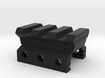 Nerf Rival to Picatinny Adapter (3 Slots)