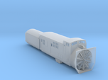Railroad SnowPlow With Tender - Nscale