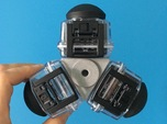 Kodak 3-Cam Mount for Underwater Housing
