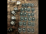KDM Armor Tokens (12 pcs)