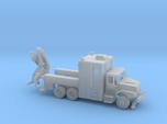 MOW Rail Truck With Hoist 1-87 HO Scale