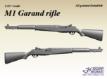1/25 M1 Garand Rifle (4 set)