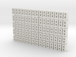Cinder Block Loose 75 Pack 1-87 HO Scale