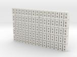 Cinder Block Loose 75 Pack 1-87 HO Scale