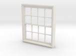 Window, 52in X 60in, 16 Panes, 1/32 Scale