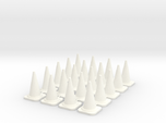 20x PACK 1:50 Construction cones / Kegel.