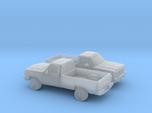 1/160 2X 1991-93 Dodge Ram Single Cab