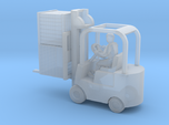Forklift With Driver & Load - N 160:1 Scale