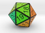 20 Sided Count Down Dice