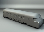 Aerotrain Wagon Tail Z scale