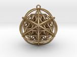 Planetary Merkaba w/ nested FOL 64 Tetrahedron