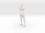 Strong male body 001 scale in 10cm